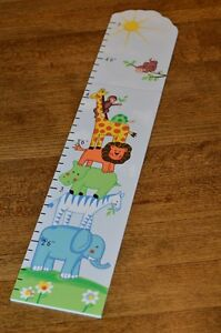 wall growth chart