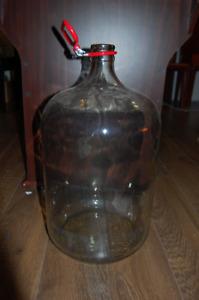 23L Glass Carboy / Tourie verre