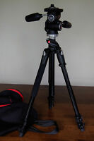 Manfrotto 190XPROB Tripod with 804RC2 3-Way Pan/Tilt Head