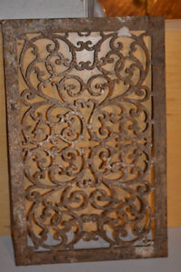 Old antique cast  iron grids London Ontario image 1