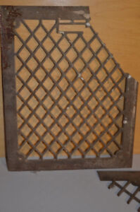 Old antique cast  iron grids London Ontario image 4