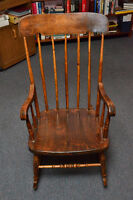 Antique Rocking Chair, Newfoundland, wood, great shape