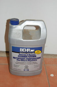 Behr Concrete and Masonry Cleaner
