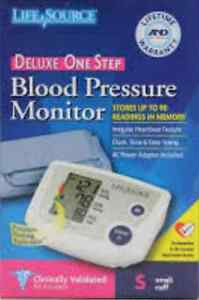 Brand New Life Source Deluxe Blood Pressure Monitor  Stratford Kitchener Area image 1