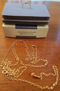 Chain and Ring Avon Collectible Gold Plated  $15
