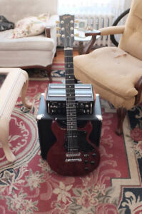 Gibson Les Paul Special DC Cherry Red P-90 Pickups