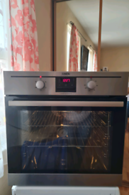 AEG single electric oven built-in stainless Steel 60cm