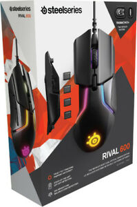 Brand New in Box Steel Series Rival 600 RGB Gaming Mouse