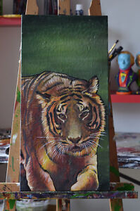 Toile Tigre