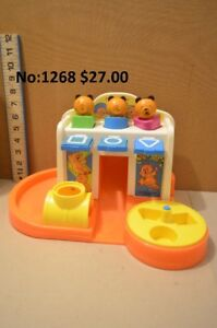 Jouet Fisher Price no 413 année 1984