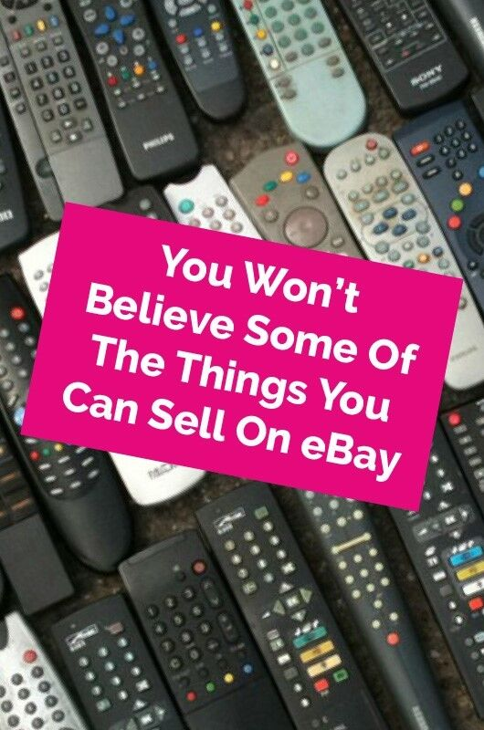 You Won T Believe Some Of The Things You Can Sell On Ebay