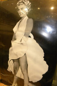 Marilyn Monroe 1965 The Seven Year Itch Hard-Backed Poster