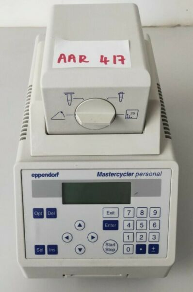 Eppendorf Mastercycler Personal 5332 16-Well PCR Thermocycler Thermal Cycler @$180 each (AAR417)