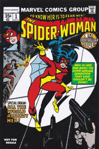 Spider-Woman #1 Reprint First Appearance Marvel Avengers