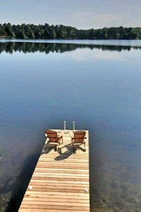 Romantic, cozy, private, waterfront cottage for rent
