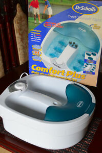 Dr. Scholl's Comfort Plus Foot Spa with Bubbles