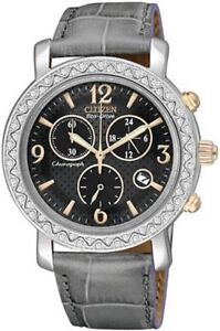Citizen FB1298-05H Eco-Drive Ladies Stainless Steel Swarovski