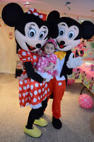 Invite a Disney Character to your Party-Photo Booth Rental 230$