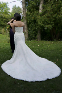 Anjolique wedding dress size 10