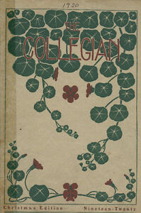 COLLEGIAN- YEARBOOK (ST THOMAS COLLEGIATE INSTITUTE) STCI 1920