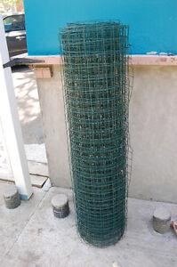 Grillage Acier Peint Vert