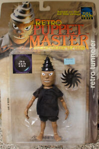 Retro Puppet Master Action Figure BNIB - Spinner