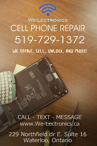 CELLPHONE REPAIRS, ACCESSORIES AND SERVICES @We-Lectronics Kitchener / Waterloo Kitchener Area image 2