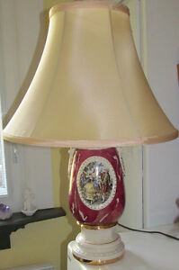 Lampe vintage - George et Martha Washington