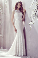 """""""Mikaella Lace Wedding Gown style #1802"""