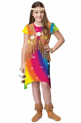 Hippie Flower Child Free Love Child Costume - Hippie Costume Kids