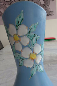 Dogwood Vase by Acclaimed Artist HERTA, Vancouver BC Strathcona County Edmonton Area image 1