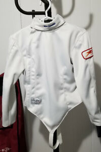FENCING JACKET, PANTS, AND BAG