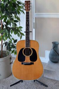 1980's Martin D-35 Acoustic L/R W/ Case