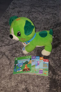 Leap frog reading dog
