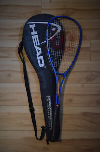 Squash racket (2nd hand) + casing