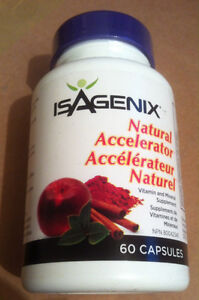 Isagenix Natural Accelorator cap is sealed