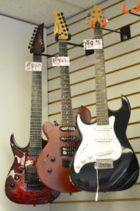 Left handed instruments for sale!!