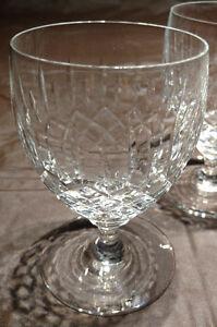 3 Stemmed Edinburgh Crystal Glasses Oakville / Halton Region Toronto (GTA) image 3