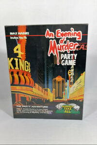 [SEALED] An Evening of Murder - Winner Take All Party Adventure