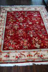 Tabriz Persian rug new never used fine 50 raj wool and silk