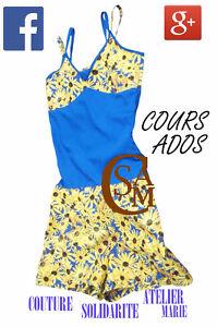 Cours de couture CSAM camp ados