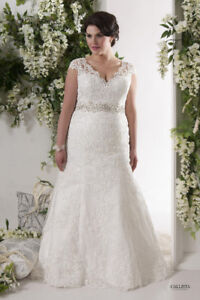 French Lace Wedding Gown