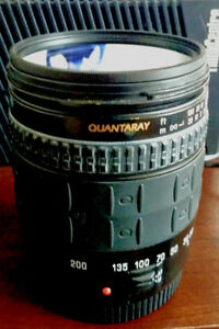 Quantaray 28-200mm F3.8-5.6 Asph. XR  Zoom Lens for Canon EOS EF