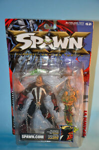 2001 McFarlane Comics Action Figure Unmasked SPAWN VI