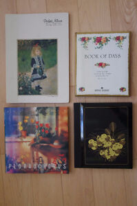 3 NEW Vintage Photo Albums + Royal Albert Day Book