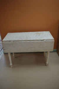 Antique White folding table