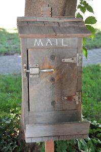 Rustic Rural Mailbox - Very Unique Cambridge Kitchener Area image 2