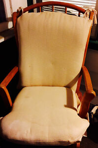 Rocking chair available