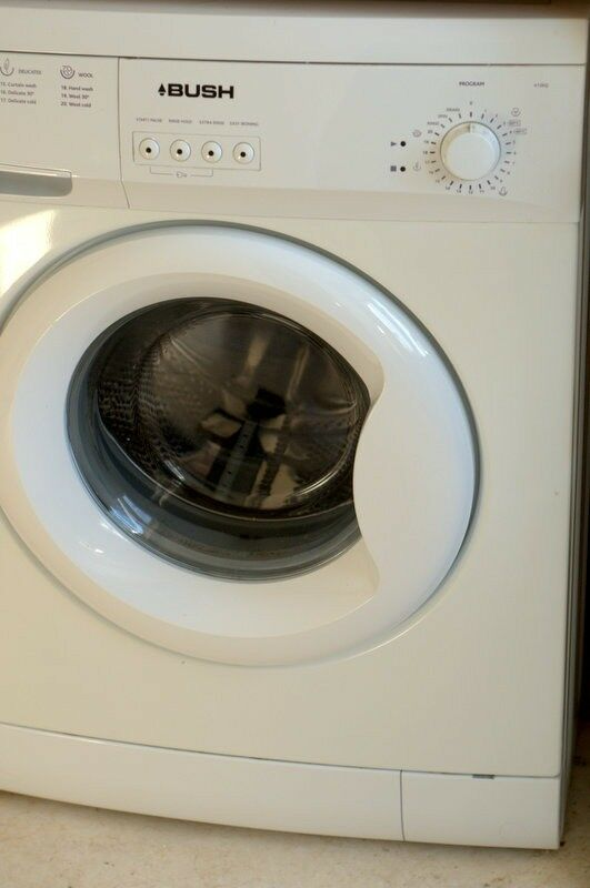 Used Bush A126Q Washing Machine White. Good condition. Well maintaned and in full working condition