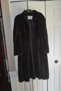 Calf length Mink Coat